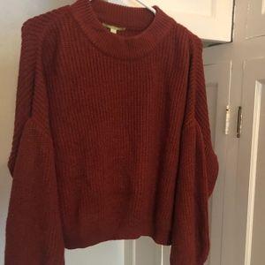 Gianni Bini Kelani Bishop Sweater